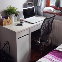 Niekosmetyczny bonus: lampa 2 w 1 i moja przestrzeń