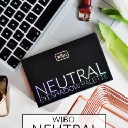 Wibo Neutral Eyeshadow Palette – piękna wiosenna nowość od Wibo