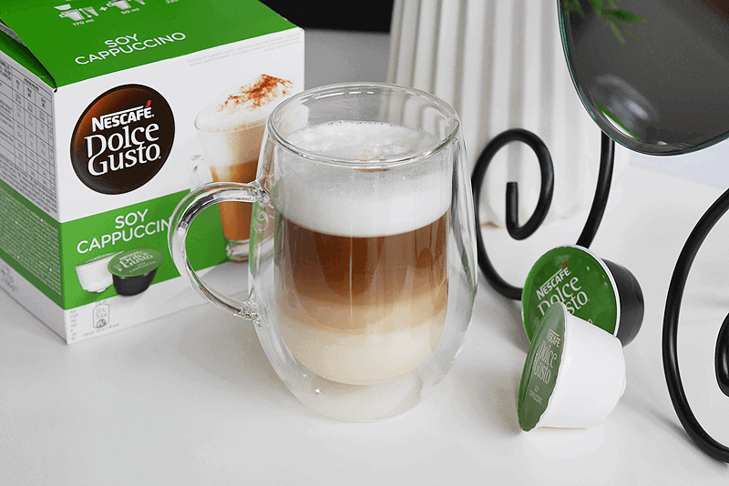soy capuccino dolce gusto