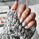 50 shades of grey – szary manicure manidot