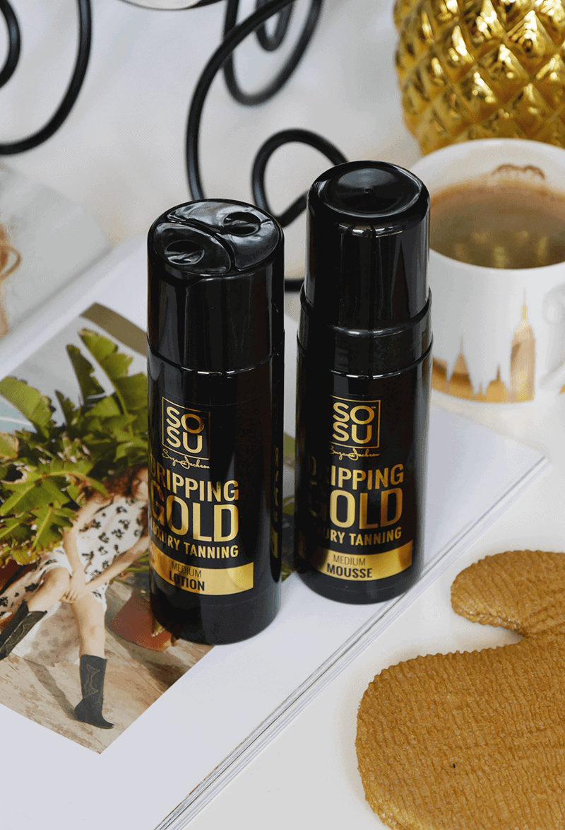 SOSU dripping gold samoopalacz