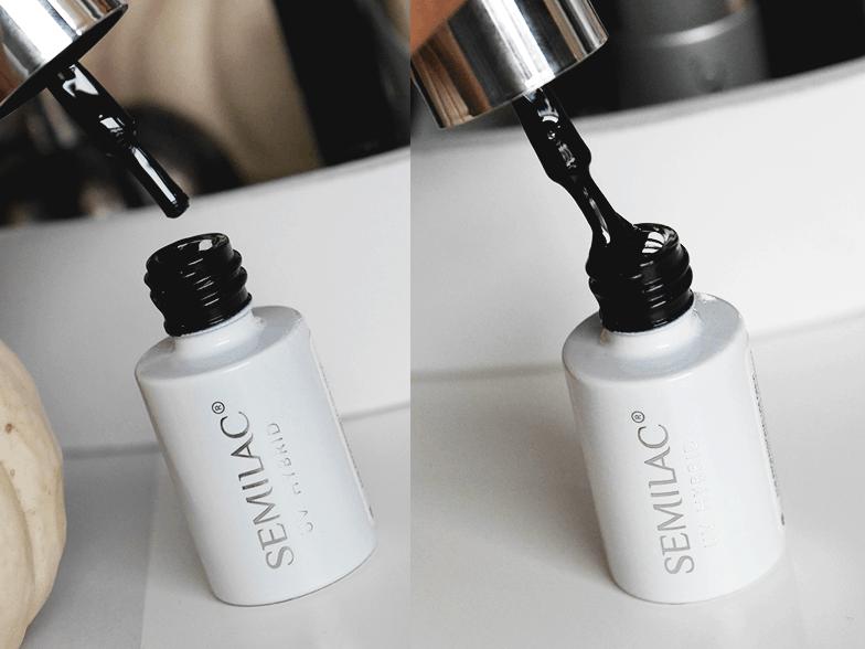 Semilac Total Black